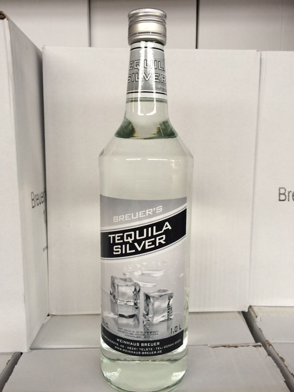Breuers Tequila silber